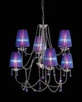 Люстра Morosini Evi Style Hermitage LA6 Blue Violet
