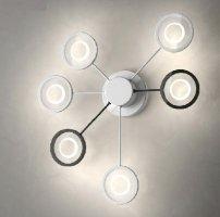 Потолочно-настенный светильник FlorianLight Circle C6