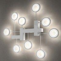 Потолочно-настенный светильник FlorianLight Circle R9