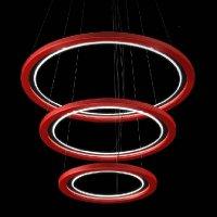 Подвесной светильник FlorianLight Free X3 /80 Rosso