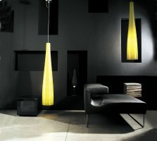 Подвесные светильники Foscarini TITE 1 Giallo 111017 55