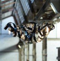 Подвесной светильник Jacco Maris Montone MN07CH.HG/BL.T