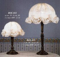 Настольные лампы Jago,Италия ROL 031