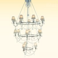 Большие люстры Lamp International 5216/F18/CR