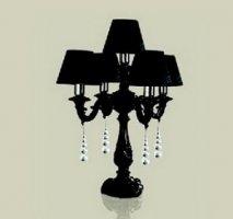 Настольная лампа Le Porcellane 2138/5/N
