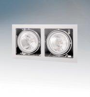 Встраиваемый спот Lightstar CARDANO 111 X2 BIANCO 214120