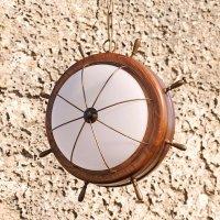 Подвесной светильник Lustrarte Nautica Leme Madeira 213.89