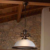 Подвесной светильник Lustrarte Rustica Coffee 201.89