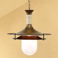 Подвесной светильник Lustrarte Rustica Cordas 292.89