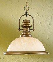 Подвесной светильник Lustrarte Rustica Marble 206.89