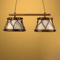 Подвесной светильник Lustrarte Rustica Tambor 365/2.89