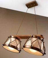 Подвесной светильник Lustrarte Rustica Tambor 366/2.89