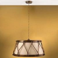 Подвесной светильник Lustrarte Rustica Tambor 530.89