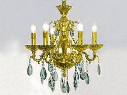 Люстра NEWPORT 9206/C Gold