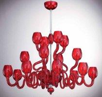 Люстры OR Illuminazione 502/8+4+4 Rosso
