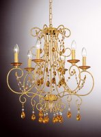 Люстры OR Illuminazione 608/6 amber