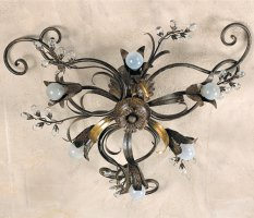 Потолочный светильник Passeri International Cristallo PL 5965/6