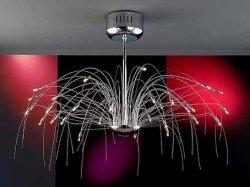 Потолочные светильники Schuller Palmera 46-0910