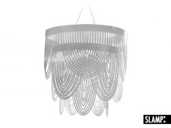 Подвесной светильник Slamp Ceremony CER79SOS0002LE000, прозрачны