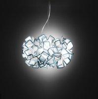 Подвесной светильник Slamp Clizia CLI78SOS0000B_000, голубой