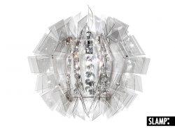 Подвесной светильник Slamp Crazy Diamond CRZ77SOS0000FT, дымчаты