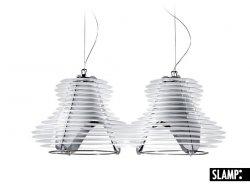 Подвесной светильник Slamp Faretto FAR14SOS0007W_000, белый
