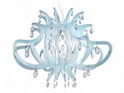 Подвесной светильник Slamp Medusa MED14SOS0000CT, синий