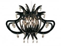 Подвесной светильник Slamp Medusa MED14SOS0000NT, черный