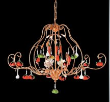 Люстра Tredici Design 1314A/4 золотой