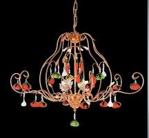 Люстра Tredici Design 1314B/4 золотой