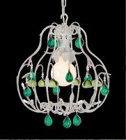 Подвесной светильник Tredici Design 1314D/1 кремово-бежевый