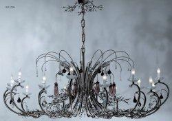 Люстра Tredici Design 1329.17CRA черно-коричневый