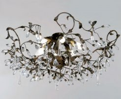 Потолочный светильник Tredici Design 1330.6CR PL коричневый