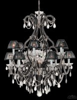 Люстра Tredici Design 1360.13CRA CP bl+A113 черный