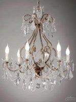 Люстра Tredici Design 1360.6CRA коричнево-медный