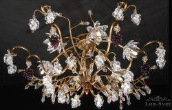 Потолочный светильник Tredici Design 1367.6F золотой