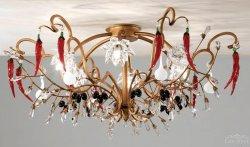 Потолочный светильник Tredici Design 1369.6F золотой
