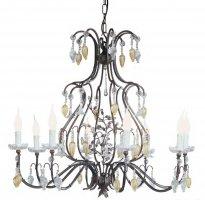 Люстра Tredici Design 1374.8F коричнево-медный