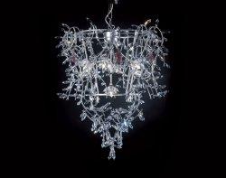 Подвесной светильник Tredici Design 1377.5CR серебристый