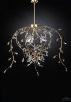 Подвесной светильник Tredici Design 1401.3 золотой