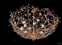 Потолочный светильник Tredici Design 1405.12 золотой