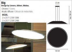 Потолочные светильники Vibia (Испания) 0535-01