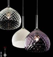 Подвесной светильник Vintage Venezia SO1L cristallo E/oro