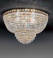Потолочный светильник Voltolina AMSTERDAM plafoniera 40 Oro
