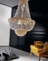 Подвесной светильник Voltolina Amsterdam Impero 60 Oro