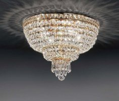 Потолочный светильник Voltolina Beethoven plafoniera 40 Oro