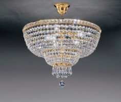 Потолочный светильник Voltolina Beethoven sospensione 50 Oro