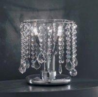 Настольная лампа Voltolina Lumetto Silk cristallo