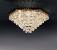 Потолочный светильник Voltolina Mosca plafoniera 40 Oro