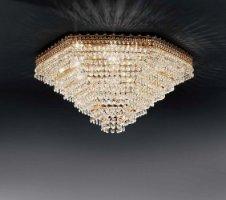 Потолочный светильник Voltolina Mosca plafoniera 50 Oro